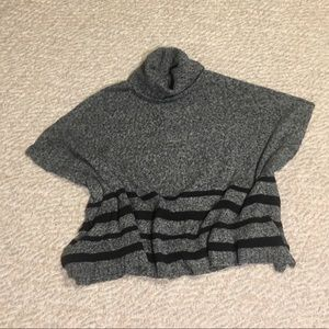 Poncho style sweater vintage 80's